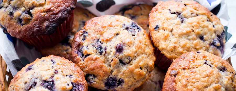 Heart Healthy Blueberry Muffins Recipe