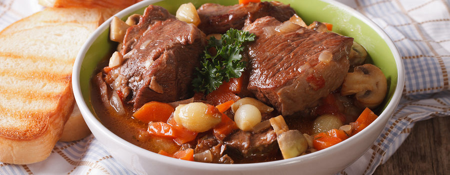 Healthy Beef Bourguignon Recipe