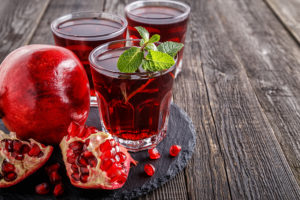pomegranate to fight high blood pressure