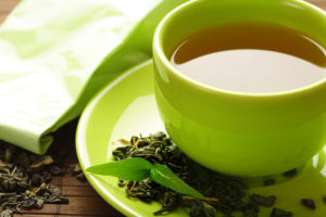 two green tea cups a day for healthier blood pressure