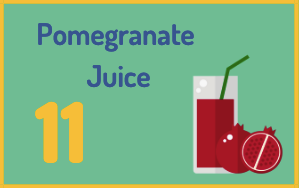 pomegranate is a home remedy for high blood pressure