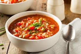 foods to lower blood pressure Gazpacho Soup