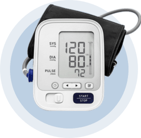 RESPeRATE and blood pressure monitor