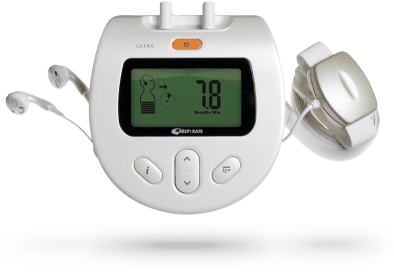RESPeRATE device to lower blood pressure naturally - no side effects